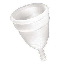 Белая менструальная чаша Yoba Nature Coupe - размер S